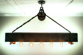 rustic chandelier for attractive billiard lights for of best pool table lighting ideas on industrial