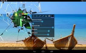 Cracked Screen Gyro 3D PRO Parallax ...