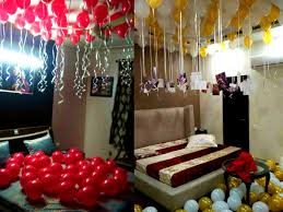 Decorating With Balloons Balloon Surprise Decoration At Home Anniversary Birthday Delhi