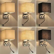 cloth wall lamp sconce switch stair