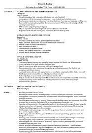 Server Bartender Resume - Resume Sample