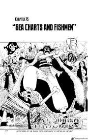 Manga Charts Read One Piece Manga Chapter 75 Sea Charts And Fishman