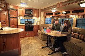 Travel trailers interior Sporttrek Conventionalinsidechess Webjpg Decomg Ncrvda Website