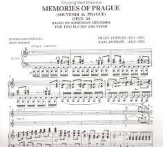 Program Notes Template Doppler Concerto For Two Flutes Program Notes Template