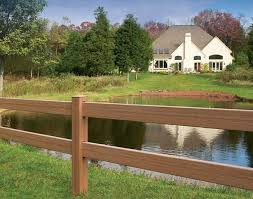 rail fence styles. Post And Rail Style Vinyl Fence Rail Fence Styles