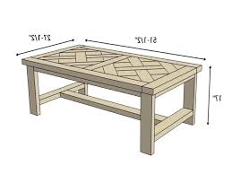 typical coffee table height sizes average awesome size square
