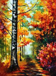 palette knife painting oil on canvas paintings soul time by leonid afremov home design 0