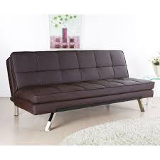 Sofa Beds For Bedrooms Brown Leather Sofa Bed Best Home Decoration