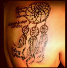 Dream Catcher Tattoo With Quote Best of Dream Catcher Tattoo With Quote The Random Vibez
