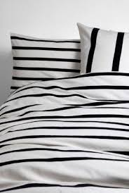 black and white striped duvet. Perfect Striped Classy Elegance Is What Characterizes This Pretty Bedding Set It Features  A Duvet Cover And Two Pillow Cases In Black White Stripes Throughout Black And White Striped Duvet D