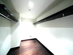 walk in closet light fixtures led