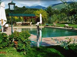 Schöne Land Villa Mit Swimmingpool Nahe Rom Mittelalterlichen Städten Casperia