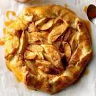 apple  ham  and smoked gouda rustic tarts