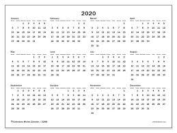 2020 Calendar 32ms Michel Zbinden En