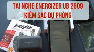 Mở hộp và kết nối tai nghe bluetooth Energizer UB2609 kiêm sạc dự phòng -  YouTube