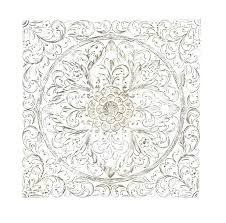 white carved wood wall art white carved wall decor tropical home decor carved wood wall art