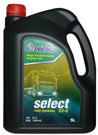 select ci 4 sae 10w 40 engine oil