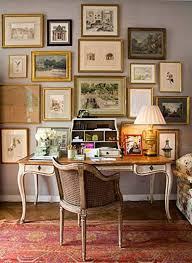 office wall decoration ideas. Home Office Wall Decor With Framed Art Decoration Ideas 2
