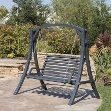 outside swing chair. Porch Swing Chair Freeport Park Brandi Outdoor Wood With Stand For Remodel 11 Outside