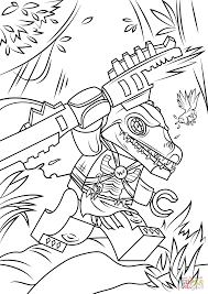 Small Picture Lego Chima Cragger coloring page Free Printable Coloring Pages