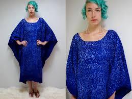 70s Batik Caftan Cotton Caftan Kaftan Dress The Bavinda
