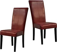 red dining chairs – package of two  the brick