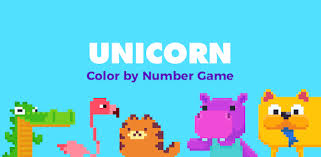 <b>UNICORN</b> Color by Number | Pixel Art Coloring Games - Apps on ...