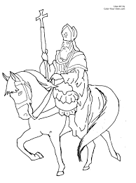Small Picture Saint Nicholas Christmas Coloring Page
