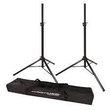 speakers and stands. ultimate support js-ts50-2 tripod speakerstands speakers and stands