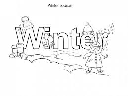 Small Picture Winter Coloring Pages Free Printable Winter Coloring pages of
