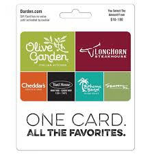 olive garden longhorn red lobster seasons 52 yard house gift card