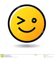 Wink Emoticon Emoji Icon Stock Vector Illustration Of Cried 121697526