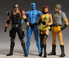 review and photos of watchmen comedian silk spectre dr watchmen comedian action figure by dc direct