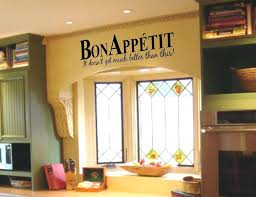 Bon Appetit Wall Decor Plaques Signs Bon Appetit Wall Decor It Get Much Better Than This Vinyl Wall 17
