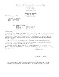 the sample debt settlement letters and validation letters on this sample debt validation letter template sample settlement letter