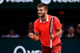 three of the most promising young stars on the atp tour set new career highs this week led by new rolex paris masters chion karen khachanov