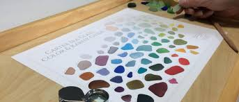 carter sea glass color and rarity guide travel size