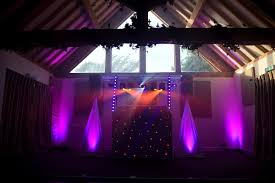 lighting set. Wedding DJ Lighting Set Up
