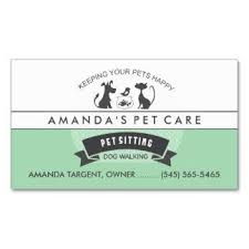 Pet Sitter Business Cards Pet Sitter Business Cards Under Fontanacountryinn Com