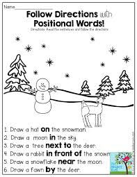 Follow Directions with Positional Words- such a FUN activity found ...