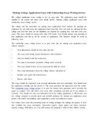 Scholarship Essay Help Schools Homework Help Rheinreise Write My Scholarship Essay For Me