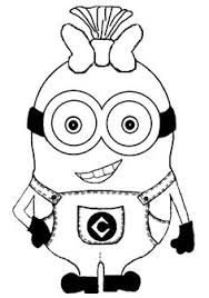 Small Picture minion stuart coloring pages as girl Culinary Arts Pinterest