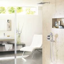 grohe grohtherm 3000 cosmopolitan wall mounted trim round meets square the perfect look grohe grohtherm 3000 cosmopolitan thermostatic