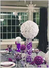 Winter Wedding Decor 37 Trendy Purple Wedding Table Decorations