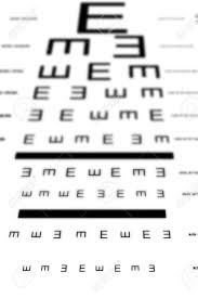 Eyesight Number Chart An Eye Sight Test Chart With Multiple Lines