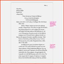 Mla Example Essay Templates Franklinfire Co