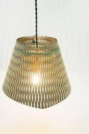 design model low yuki wood lampshade openwork and hand woven lamp design handmade