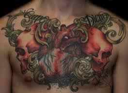 татуировки на грудной клетке мужские 1 Tatufotocom
