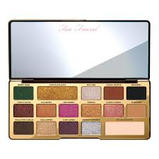 100 authentic too faced chocolate gold metallic matte eye shadow palette