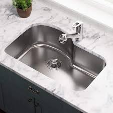 Gauge Undermount Offset Single Bowl Stainless Steel Kitchen Sink